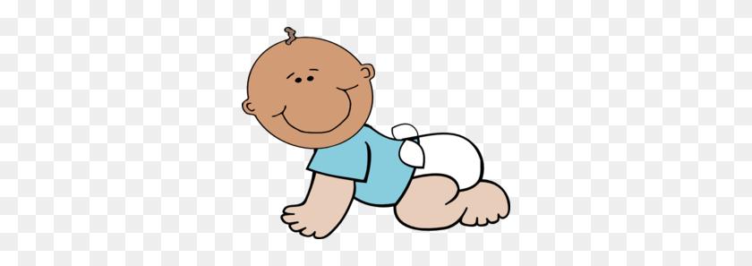 Diaper Diaper Diaper Clip Art - Baby Crawling Clipart
