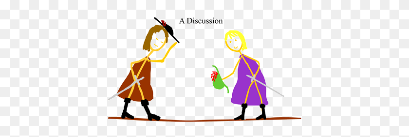 Difference Between Argument And Discussion Difference Between - People Arguing Clipart