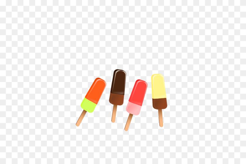 Different Ice Cream Bars - Ice Cream Bar Clip Art
