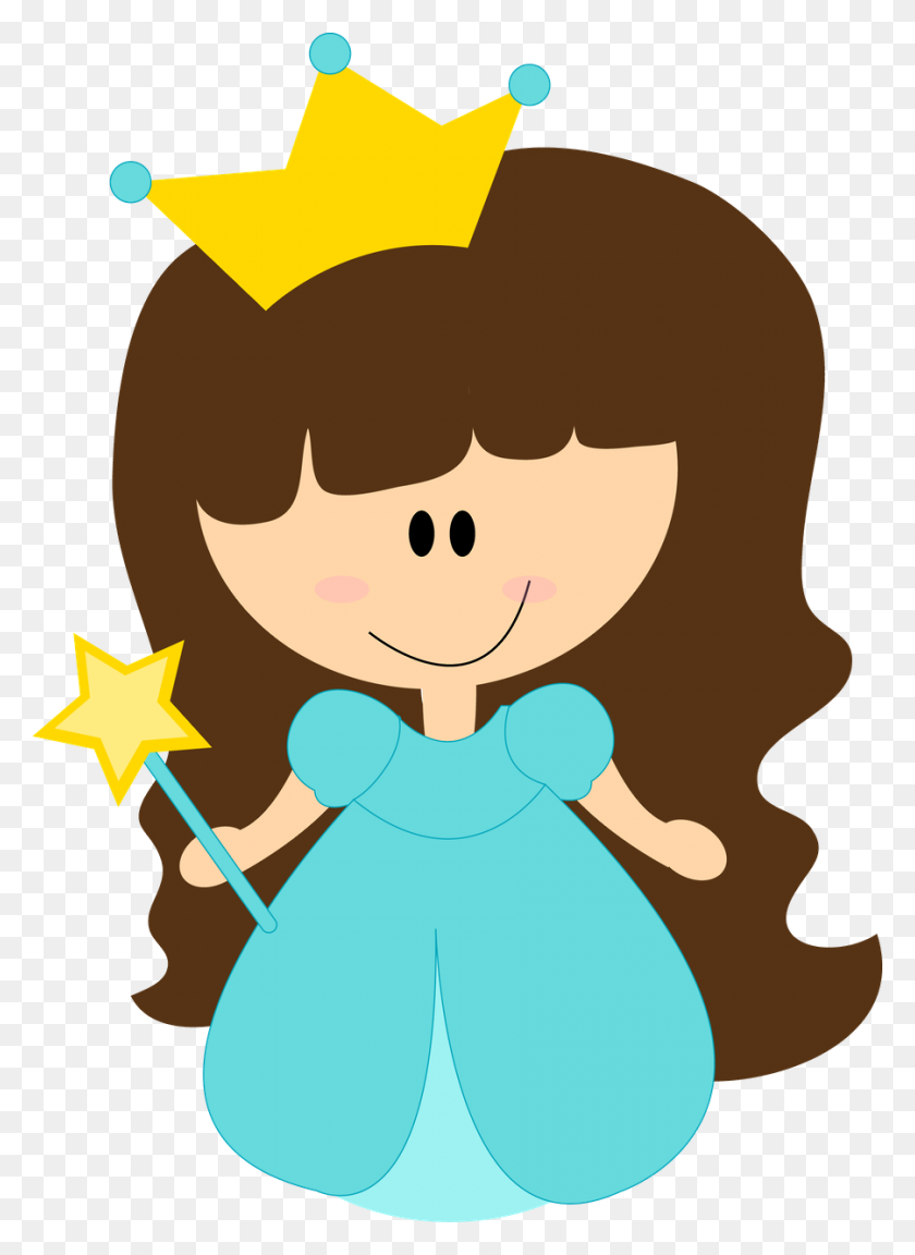 Digis Princess, Princess - Prince Clipart