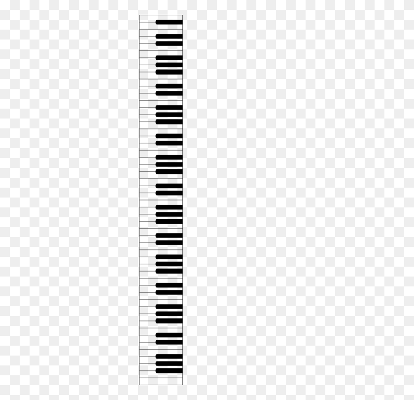 Digital Piano Musical Keyboard Computer Icons Electric Piano Free - Piano Clipart Black And White