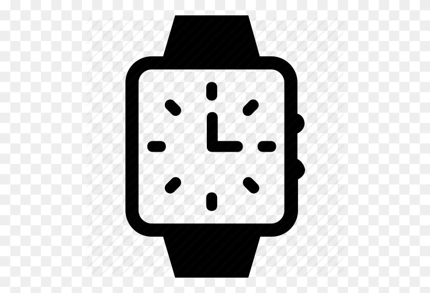 Digital Watch, Hand Watch, Timer, Watch, Wristwatch Icon - Wrist Watch Clipart