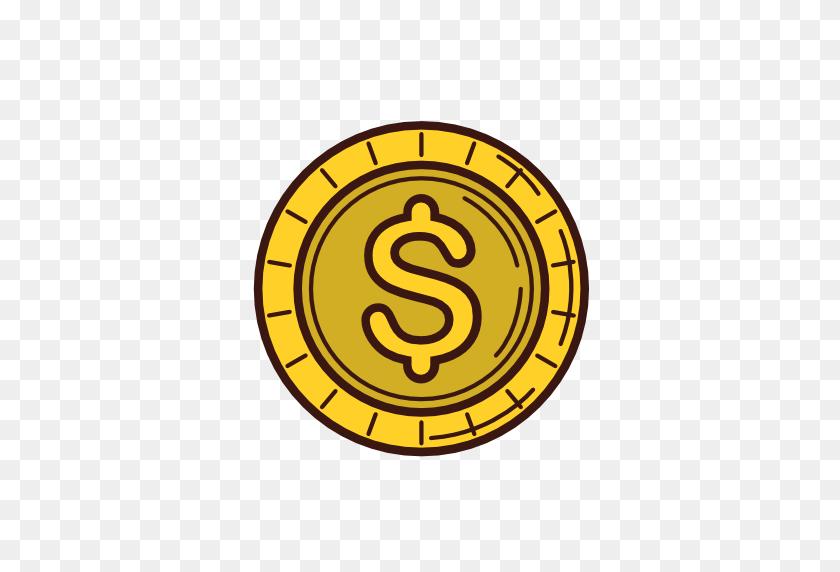 512x512 Dinheiro, Dolar, Moeda Livre De Business Icons - Dolares PNG