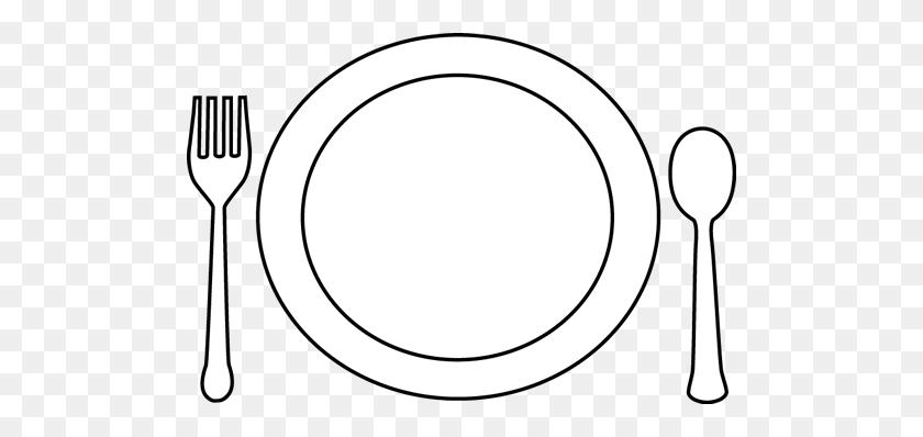 Dinner Plate Template - Spaghetti Dinner Fundraiser Clipart