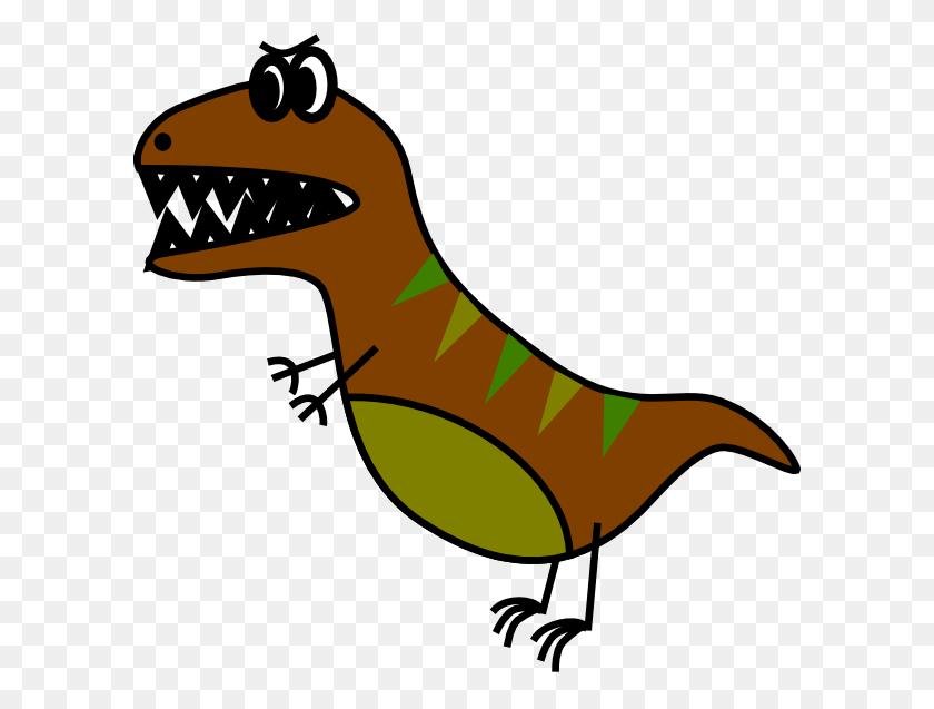 Dino Very Simple Bd Style T Rex Clip Art - Tyrannosaurus Rex Clipart