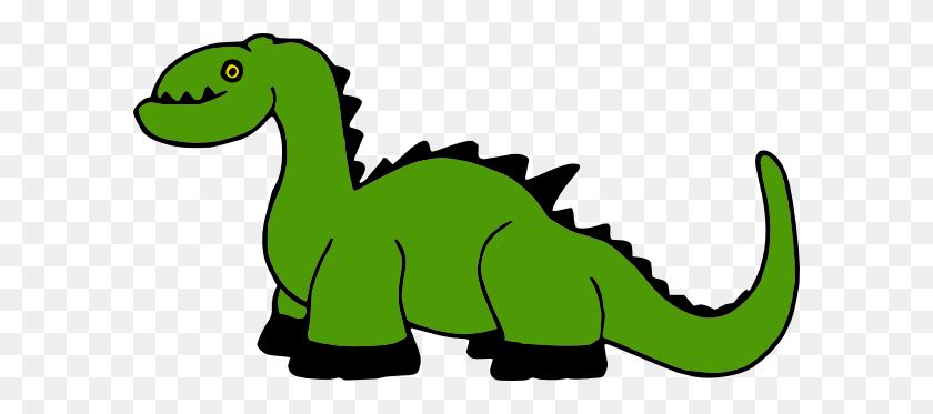 Dinosaur Cartoon Clip Art - Cartoon Dinosaur Clipart