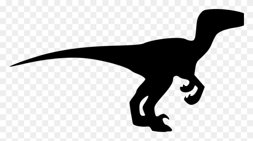 Dinosaur Clipart Black And White For Modern Style Dinosaur - Dinosaur Clip Art