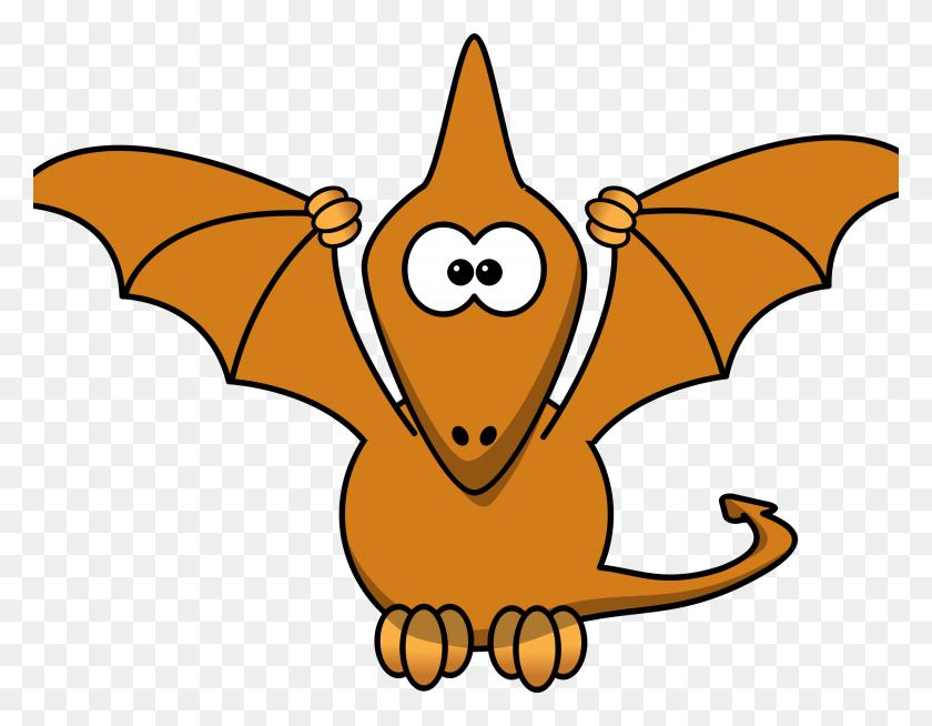 Dinosaur Clipart Fly - Flying Dragon Clipart