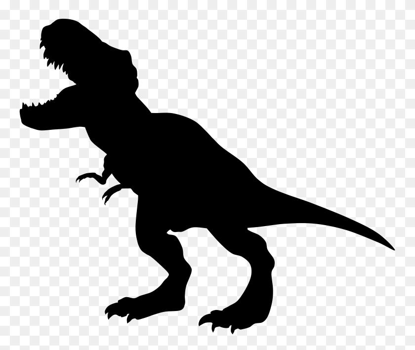 8000x6660 Dinosaur Silhouette Clipart Clipart Download Cricut - Long Neck Dinosaur Clipart
