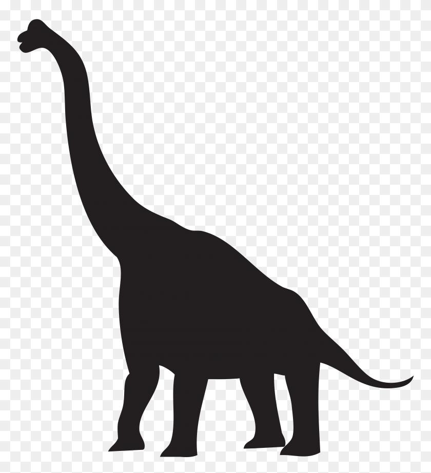 7238x8000 Dinosaur Silhouette Png Clip Art - Free Dinosaur Clipart