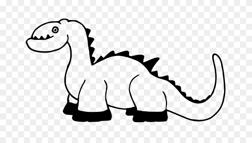 2555x1373 Dinosaurs Clipart Black And White - Mountain Clipart Black And White