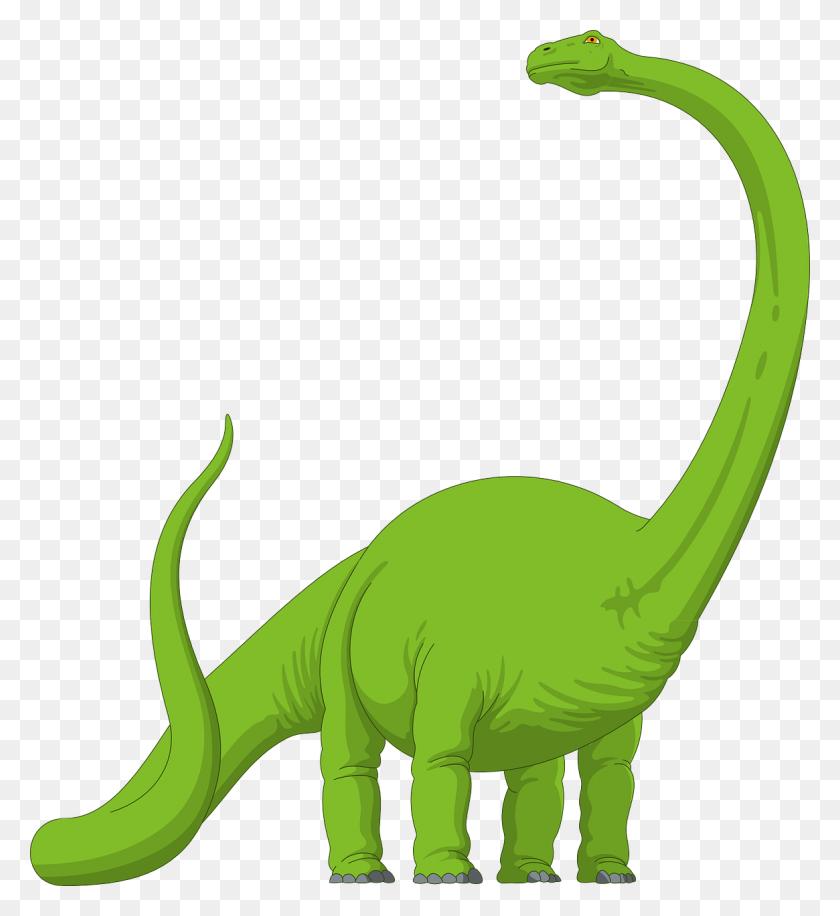 Dinosaurs Clipart Long Neck Dinosaur - Dinosaur Clip Art