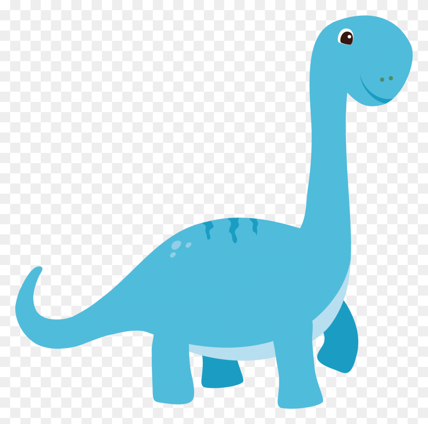 Dinosaurs Clipart Vector - Cartoon Dinosaur Clipart