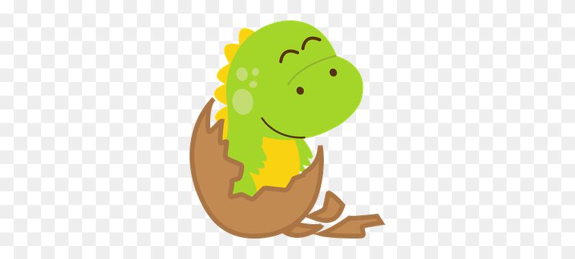 Dinossauros - Baby Dinosaur Clipart