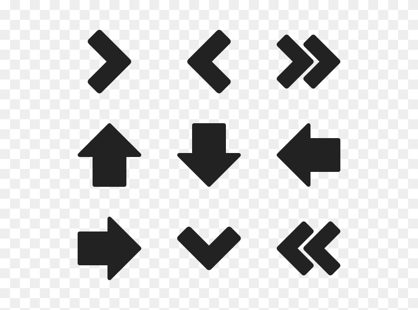 600x564 Direction Arrow Icon Packs - Arrow Icon PNG