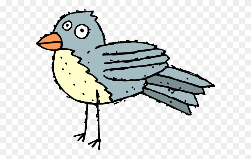 Dirty Blue Bird Png, Clip Art For Web - Blue Bird Clipart