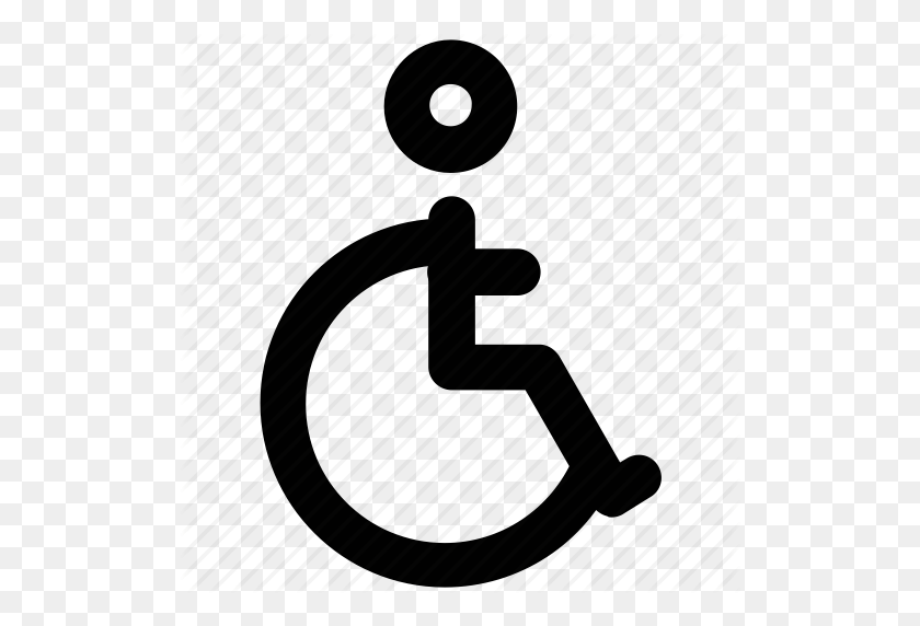 Disability, Disabled, Disabled Parking, Handicap, Paraplegic, Sign - Handicap Sign PNG
