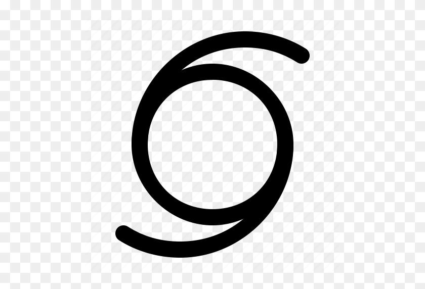 Disaster, Hurricane, Speedy, Spin, Spiral, Tornado Icon - Tornado Clipart Black And White