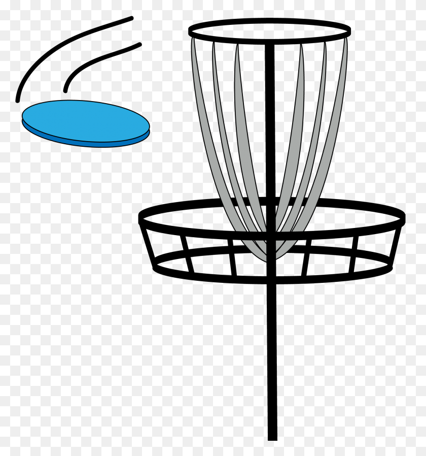 Disc Golf Disc Golf, Golf - Frisbee Golf Clip Art