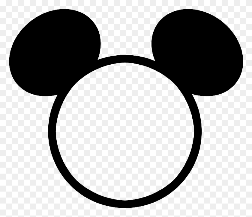Disney Art Mickey Heads Everything Disney - Minnie Mouse Head Clipart Black And White