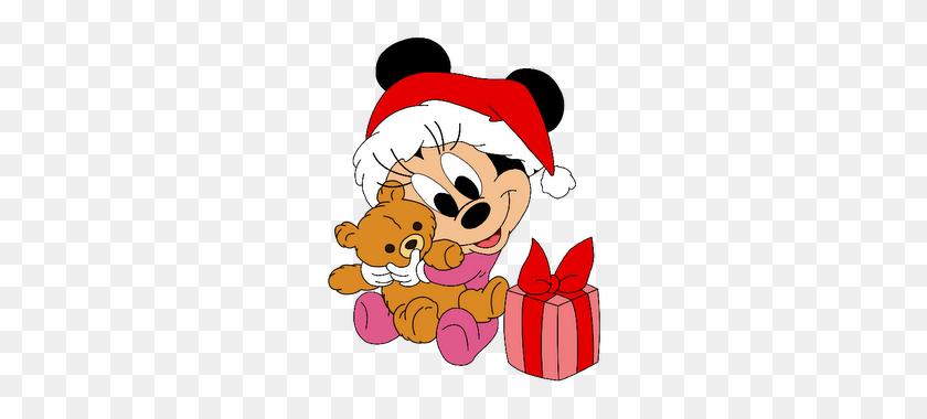 Disney Babies Clip Art Cartoon Christmas Clip Art Mickey - Feliz Navidad Clipart