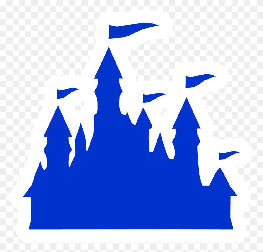 Disney Castle Logo Silhouette - Disney Castle Logo PNG