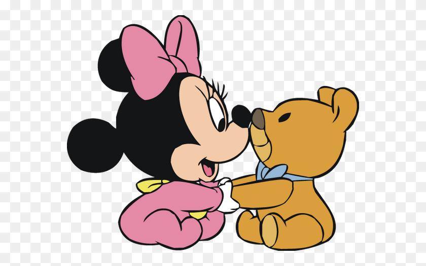 Disney Clipart Baby Disney - Minnie Bow PNG