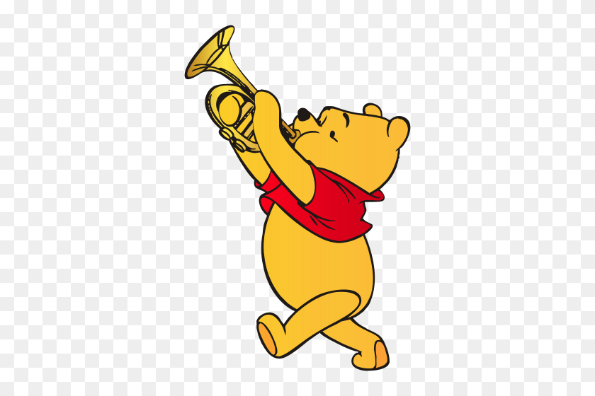 Disney Clipart Winnie - Pooh Bear Clipart