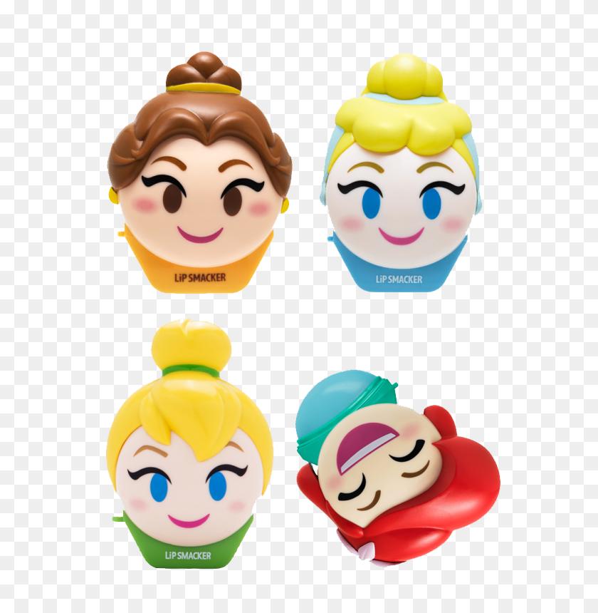 Disney Emoji Lip Balm Pack - Play Doh PNG