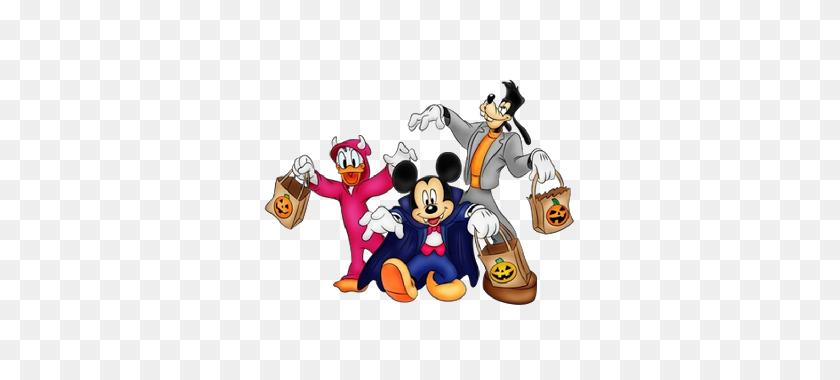 Disney Halloween Clipart Look At Disney Halloween Clip Art - Halloween Characters Clipart
