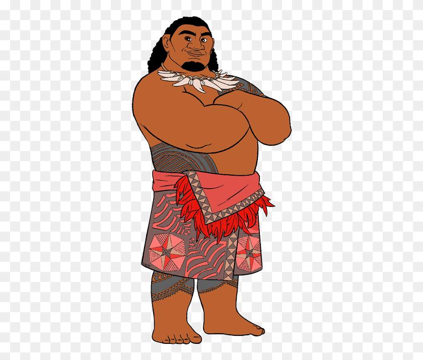 Disney In Moana And Disney - Moana Maui PNG