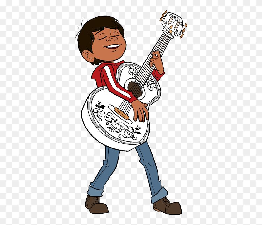 Disney Pixar's Coco Clip Art Disney Clip Art Galore - Playing Guitar Clipart