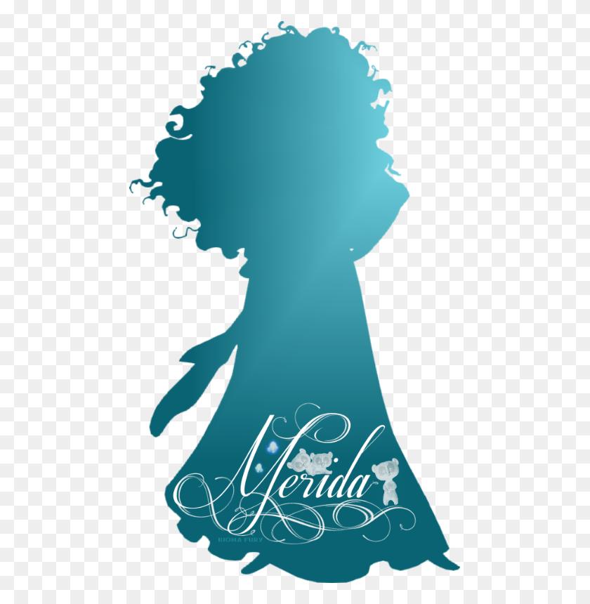 Disney Prinzessin Bilder Merida Silhouette Hintergrund - Merida PNG