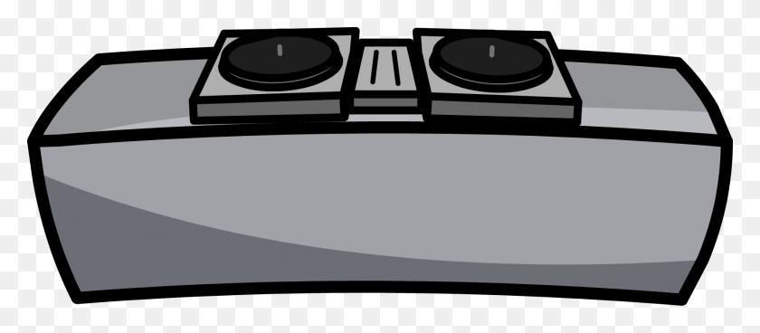 Dj Clipart Dj Table - Turntable Clipart
