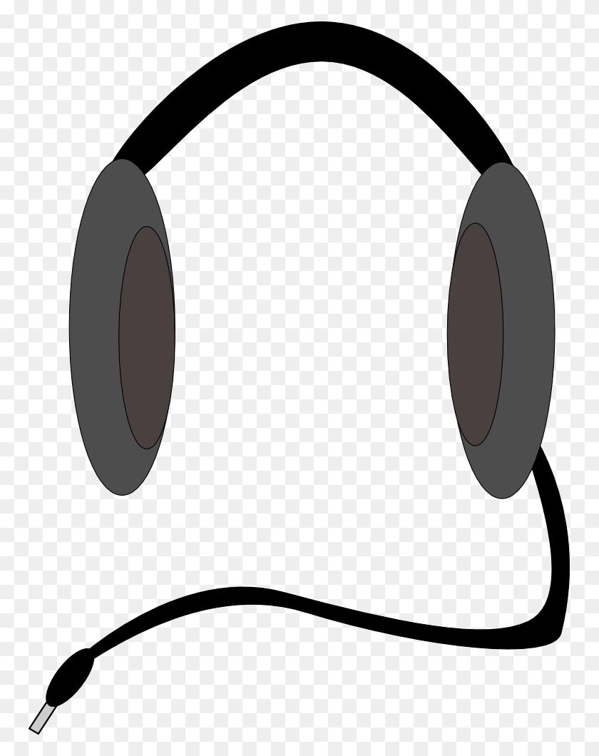 759x1000 Dj Clipart Headphone - Free Dj Clipart