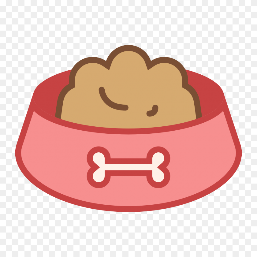 Dog Bowl Clipart - Covered Dish Clipart