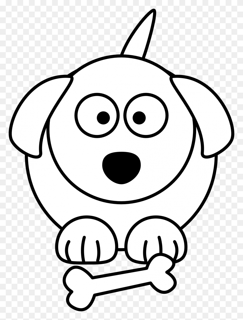 Dog Cartoon Clipart Free Cartoon Cute Dog Download Free Clip Art - Mandm Clipart Black And White
