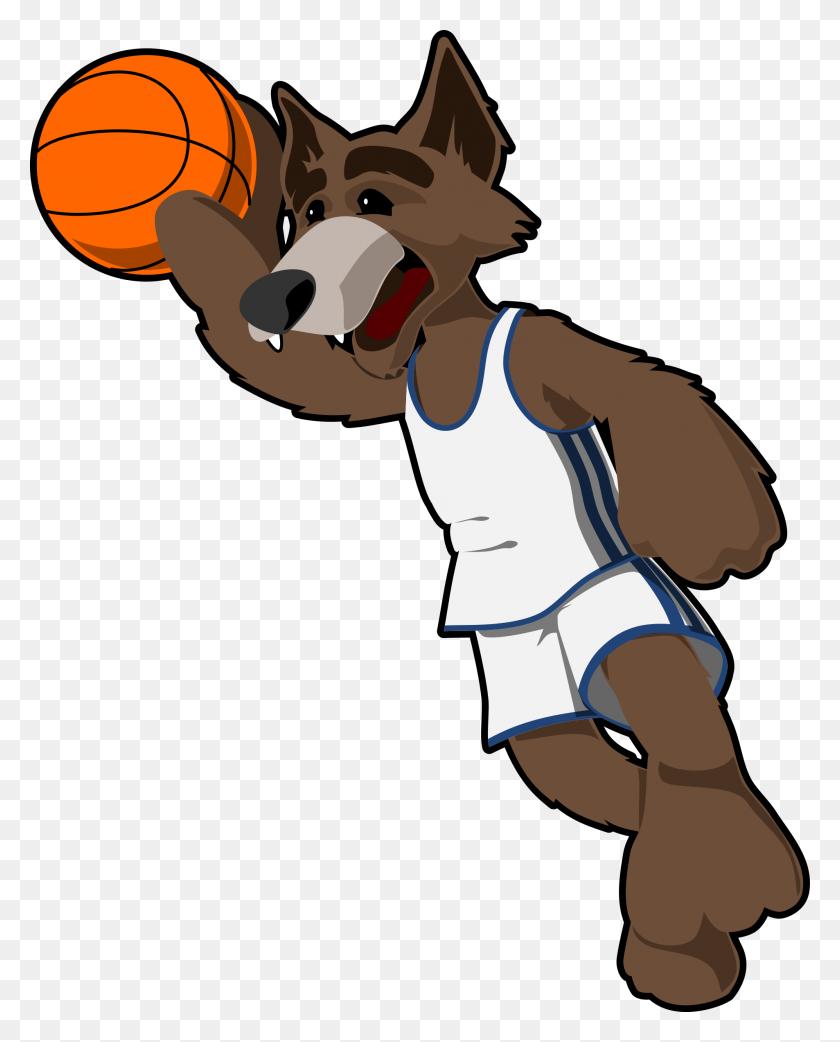 1906x2400 Dog Clipart Basketball - Basketball And Net Clipart