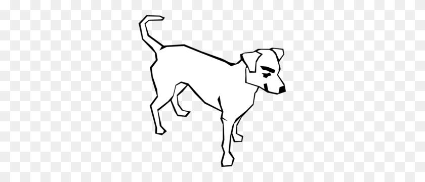 Dog Clipart Clipart Line Art - Sitting Dog Clipart