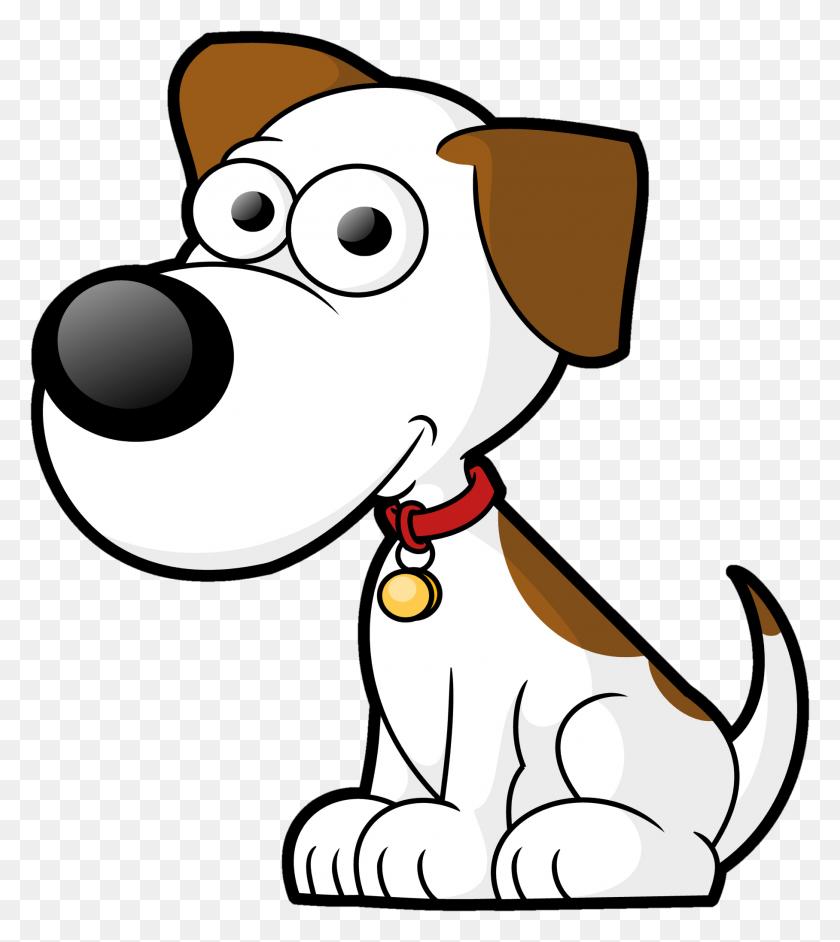 Dog On Leash Cartoon Clip Art Free Vector - Dog Leash Clipart