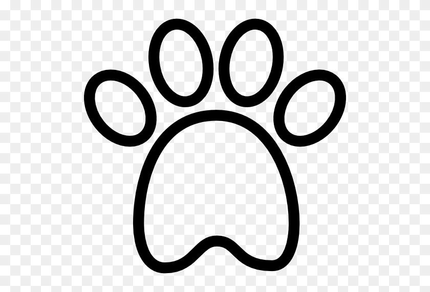 Dog Paw Computer Icons Clip Art - Dog Footprint Clipart