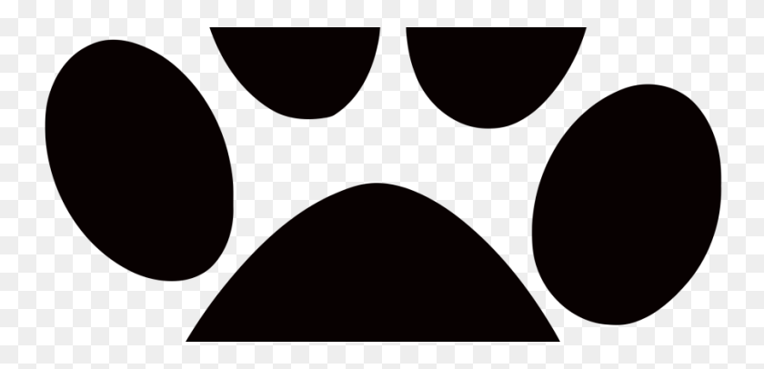 900x400 Dog Paw Print Clipart Free Download Clip Art - Dog Paw Print Clip Art