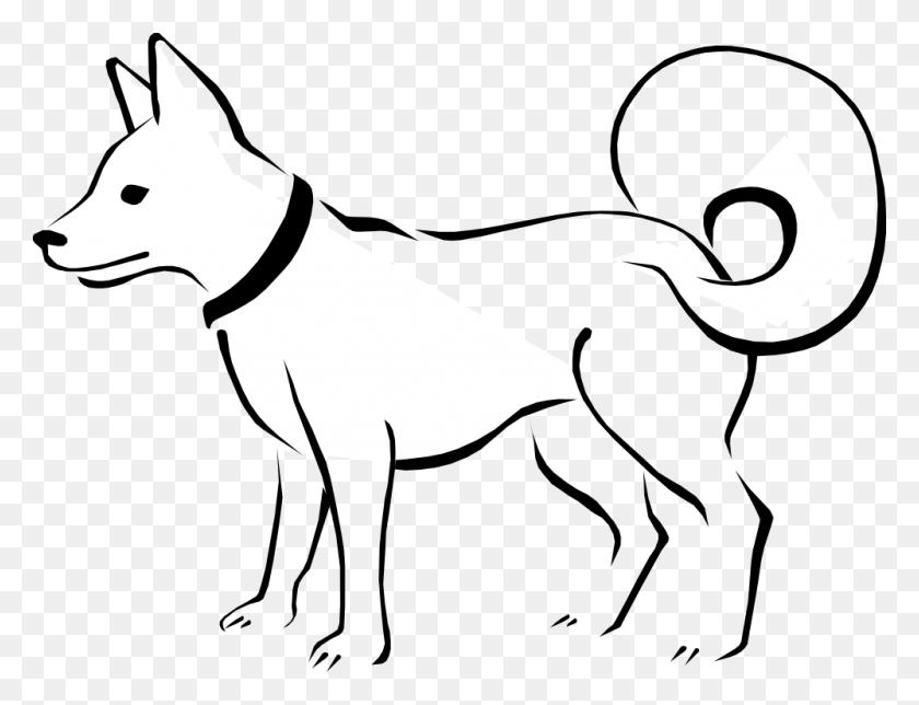 Dog Puppy Black And White Clip Art - Free Dog Clip Art