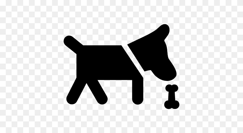 Dog Smelling A Bone Free Vectors, Logos, Icons And Photos Downloads - Dog Bone PNG