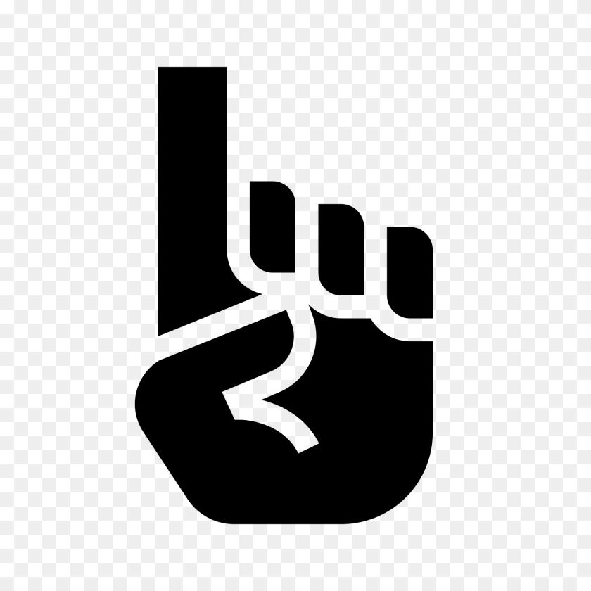 Doigts En Mousse Icon - Pointer Finger PNG