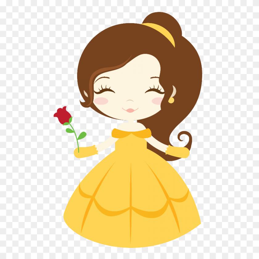 Doll Felt Houses Princess - Lumiere Clipart