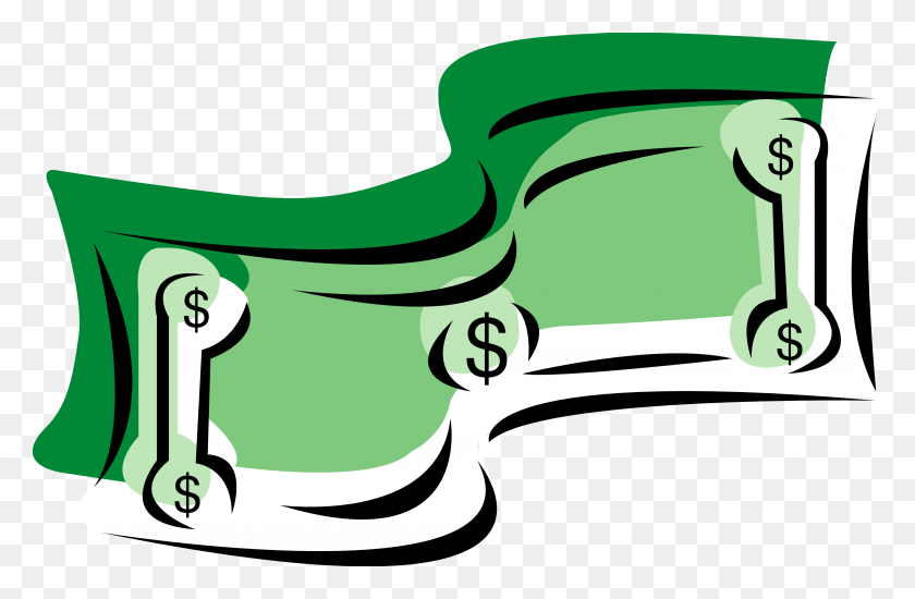 3333x2098 Dollar Clip Art Images - Sack Race Clipart