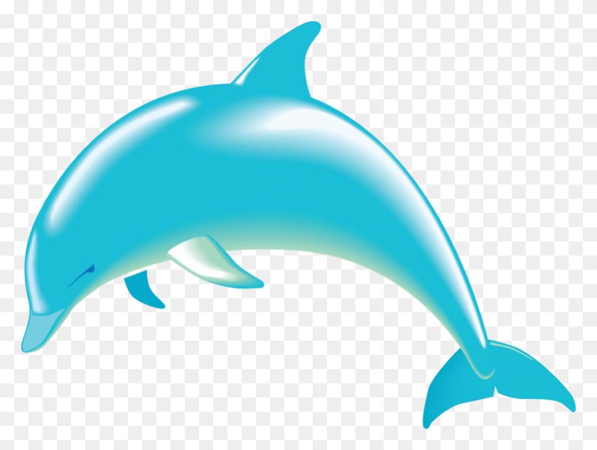 Dolphin Clipart, Cute Dolphin Clip Art - Ocean Animals Clip Art