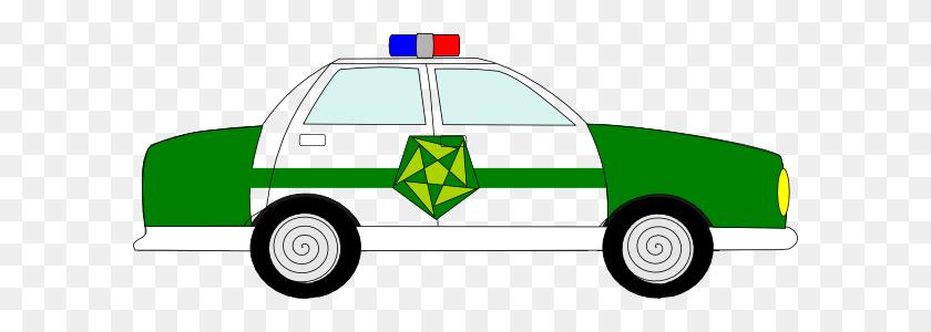Domain Police Car Clip Art - Crook Clipart