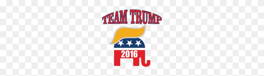 Donald Trump Hair Elephant Team Trump T Shirt - Donald Trump Hair PNG
